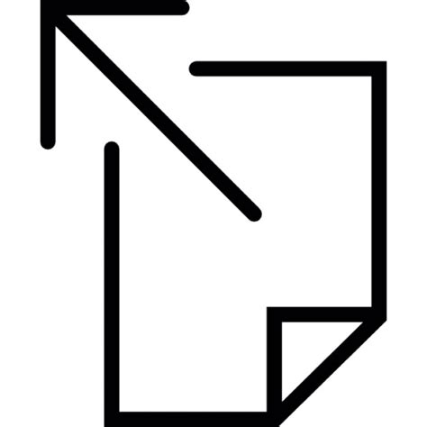 Kram Aus Der Ecke by Pfeil Der Aus Der Ecke Einer Leeren Seite Der
