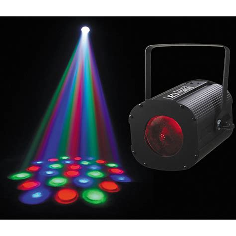 guitar center dj lights american dj led vision dmx moonflower effect light