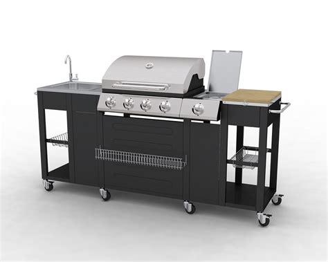 barbecue cuisine meuble cuisine exterieure inox