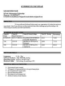 resume format for freshers computer engineers pdf it engineer fresher resume