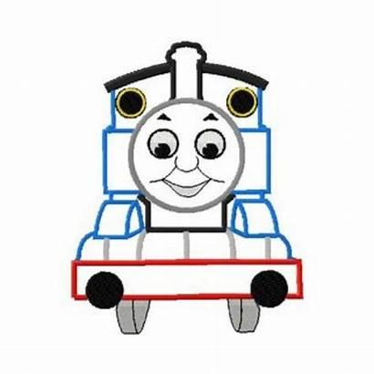 Train Applique Engine Embroidery Thomas Tank Designs