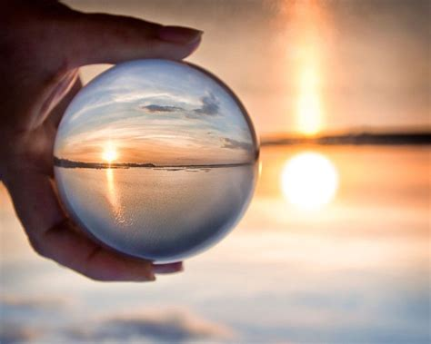 crystal ball photography fun  photography