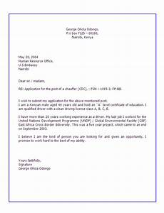 Application letter format for applying a job for How to make a cover letter for jobs