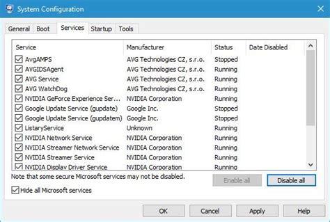 Use System Configuration Tool On Windows 10