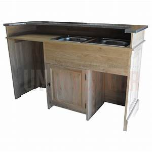 Lave Vaisselle Sous Evier : evier cuisine avec meuble evier encastrer grs blanc ~ Premium-room.com Idées de Décoration