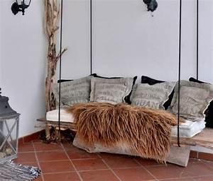 Poil A Bois Suspendu : d coration en bois 32 id es de r utiliser un tronc d 39 arbre ~ Premium-room.com Idées de Décoration