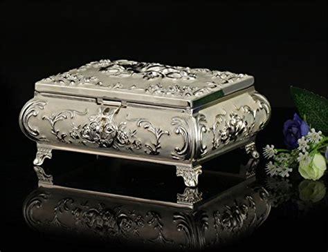 6430 gold decorative box ornate antique finish gold silver copper platinum