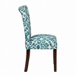 Blue Lamont Ikat Parsons Chair Kirklands