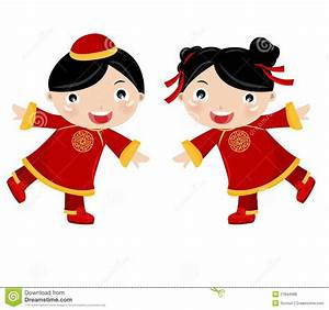 Chinese Girl Cartoon Clipart - Clipart Suggest
