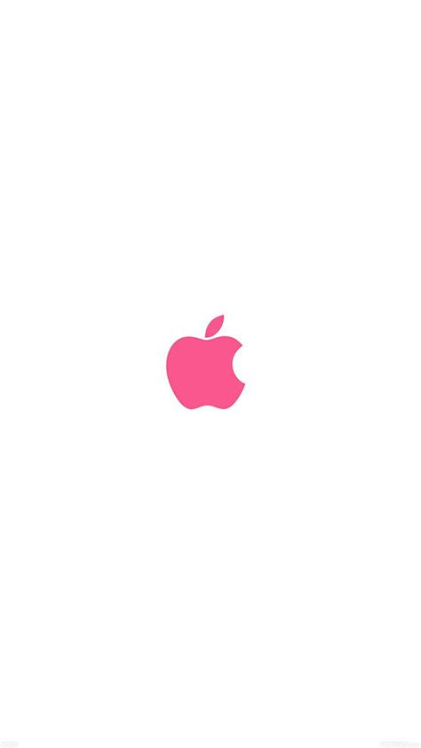 apple logo pink wallpaper fondos de pantalla de iphone