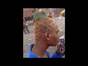 amazing things in the world! Pineapple tree grow on head ...
