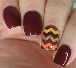 Autumn gel nail art designs ideas fall nails