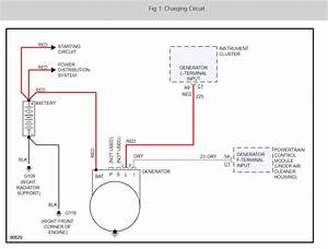 Alternator Wire Diagram Or Schematic Please   The