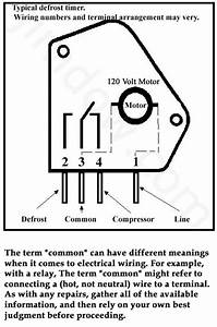 The Defrost Timer Wiring Diagram