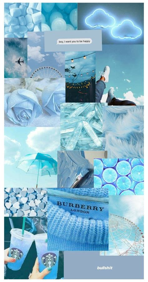 blue aesthetic wallpaper background biru polos warna