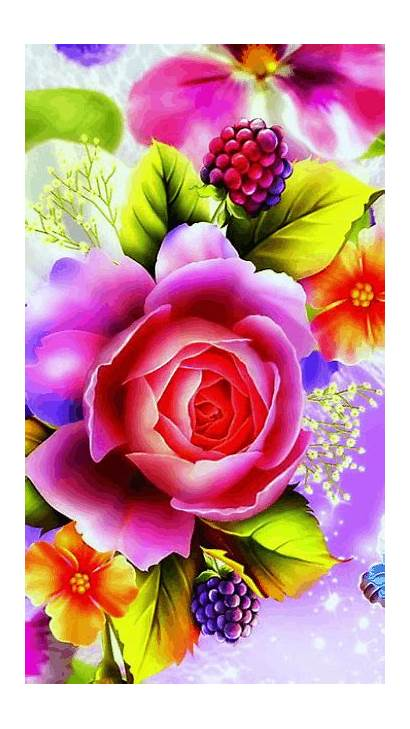 Flores Flowers Gifs Rose Flower Mariposas Fleurs
