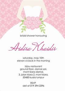 bridal shower invitation templates bridal shower With make wedding shower invitations online free