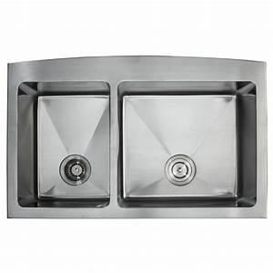 kraus khf203 36 36 inch farmhouse apron 70 30 double bowl With 30 inch double bowl farmhouse sink