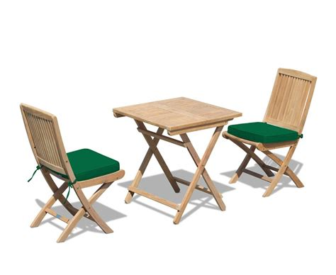 patio table and 2 chairs rimini patio garden folding table and chairs set
