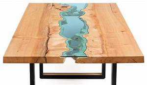 live edge wood dining table with glass river view in With rough edge wood coffee table