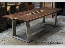 Live edge slab dining tables, Walnut slabs and tops