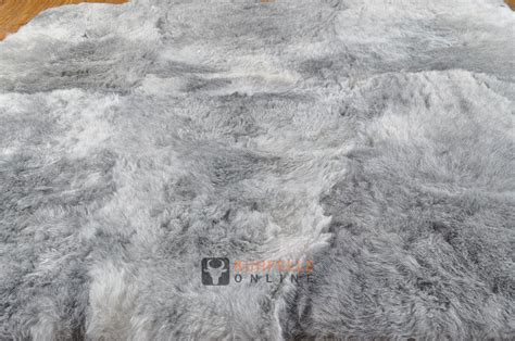 lammfell teppich grau 214 ko lammfell teppich grau 170 x 160 cm