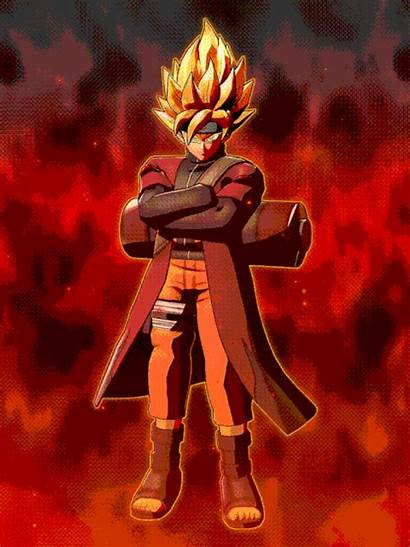 Goku Sage Mode Anime