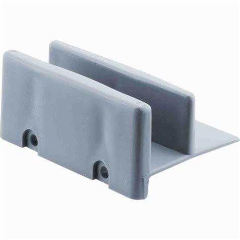shower door guide prime line 1 2 in shower door bottom guides 2 pack m
