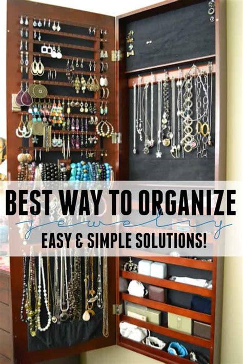 Best Way To Organize Jewelry