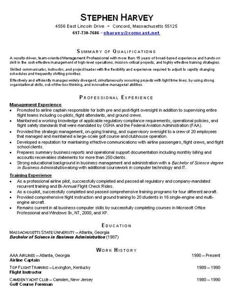 Functional Resume Exle by Funtional Resume Free Excel Templates