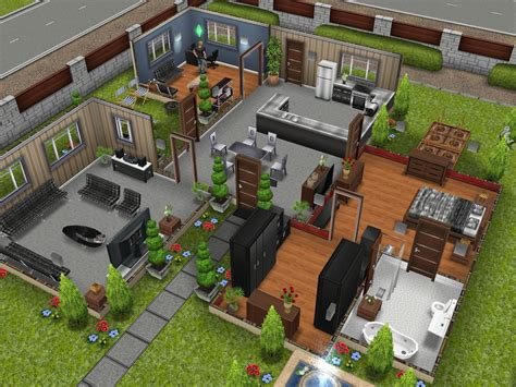 Stunning House Designs Sims Ideas by The Sims Freeplay The Designer Home