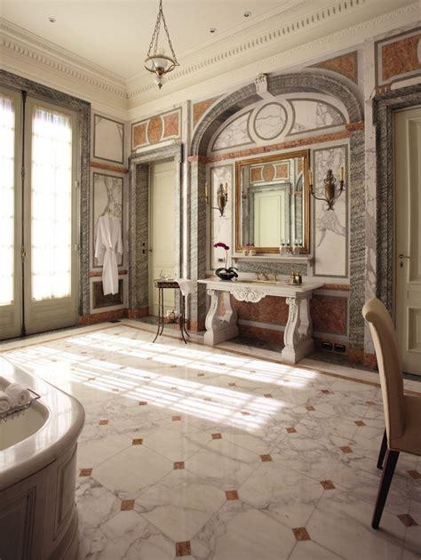 belle epoque style full marble bathroom  la mansion