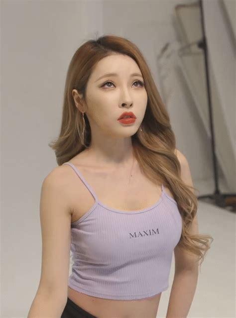 맥심 모델 유아리 후방주의 움짤 모음 매일매일 핫이슈