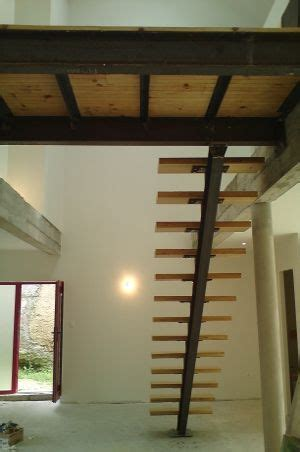 escalier  passerelle structure acier ipn idees