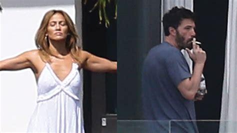 Jennifer Lopez & Ben Affleck Are Seen Meditating & Smoking ...