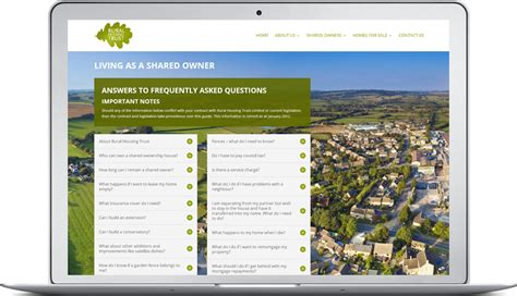 Housing company brand identity, WordPress web design ...