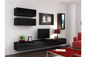 Meuble Tele Suspendu : meuble tv design suspendu bini chloe design ~ Teatrodelosmanantiales.com Idées de Décoration