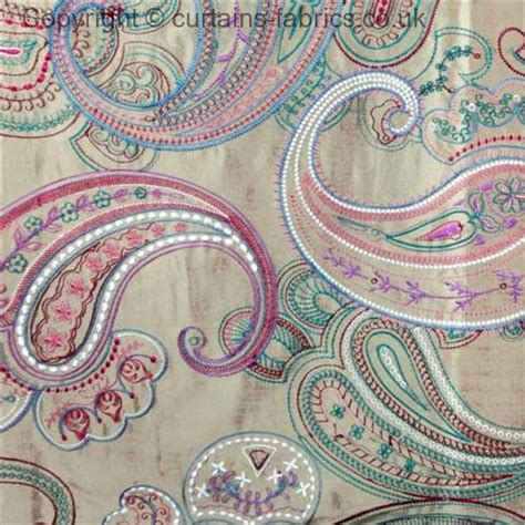 jaipur  voyage decoration  damson curtain fabric