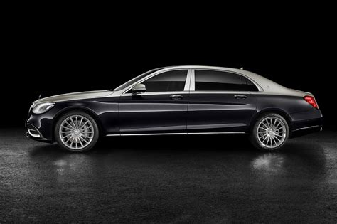 mercedes maybach  matic   revealed
