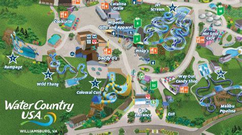 busch gardens williamsburg map theme park water park hours and maps busch gardens