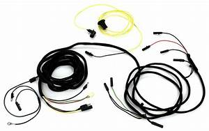 Mustang Tail Light Wiring Harness Fastback For Wire Type