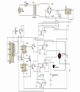 Complete Circuit Diagram Of Automatic Phase Changeover Switch