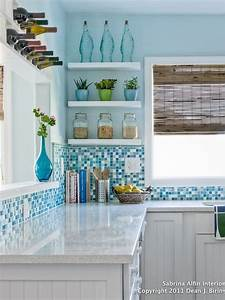 25 best ideas about beach cottage kitchens on pinterest for Kitchen colors with white cabinets with mermaid outdoor wall art