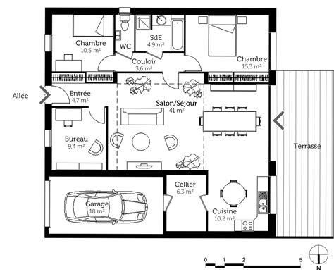 maison 6 chambres amazing dlicieux plan de maison chambres plan maison