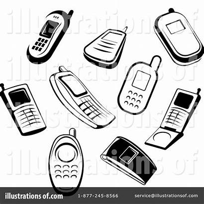 Cell Clipart Phones Illustration Cellphones Phone Royalty