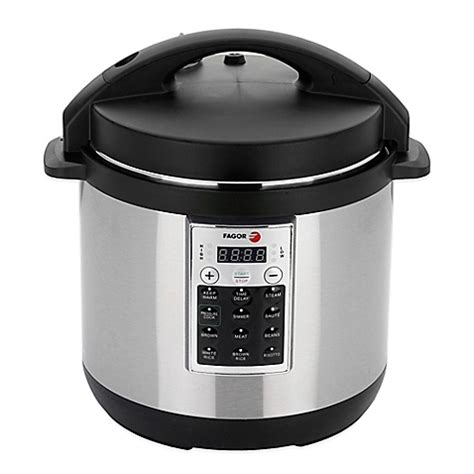fagor premium 6 qt electric pressure cooker and rice cooker bed bath beyond