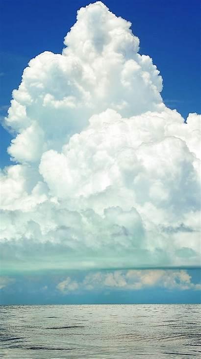 Clouds Sky Cumulus Sea 4k Cloud Nature