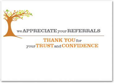 business referral card     referral pop