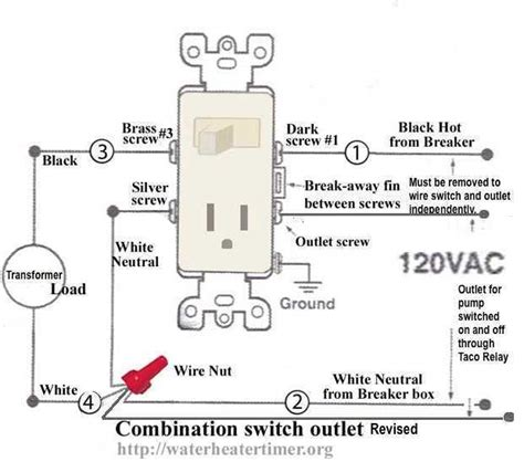 Wiring A Switched Outlet by Storage Switch Outlet Wiring For Fireplace Boiler