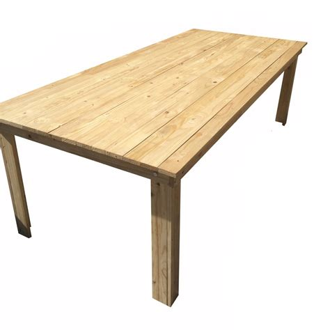 Wooden Tables For Sale by Wooden Table Hire 10 Seater So Where 2 Events Decor